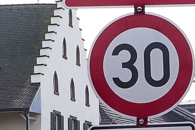 Kommt Tempo 30 auf der B 3-Ortsdurchfahrt durch Eimeldingen?