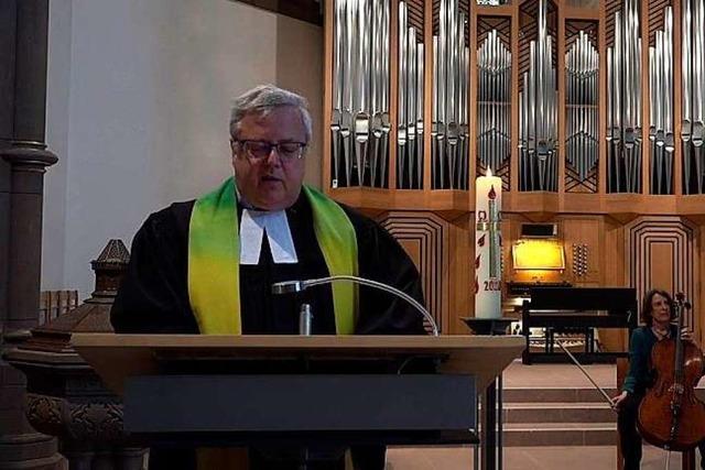 Video: Evangelischer Gottesdienst aus der Stadtkirche Schopfheim am 10. Mai 2020