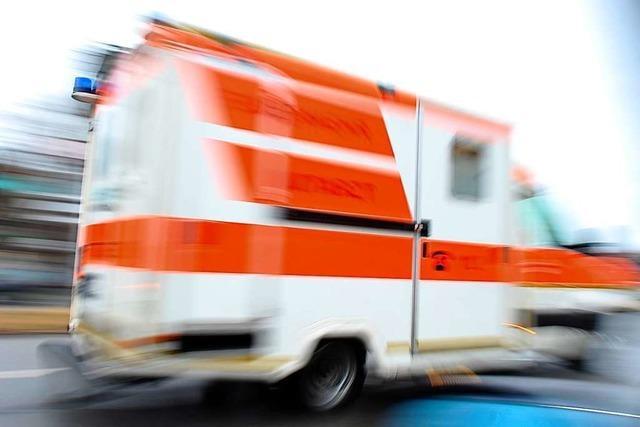 Drei Verletze bei Unfall in Lörrach – Polizei vermutet illegales Autorennen