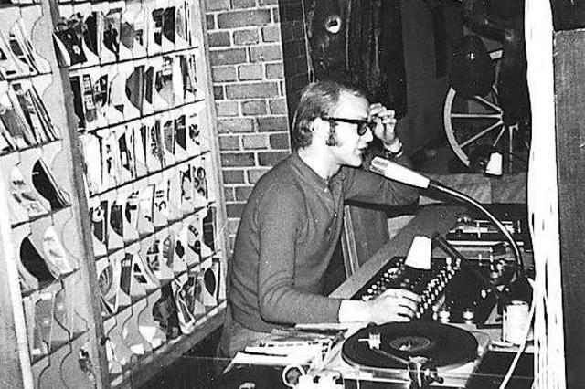 Discjockey Ralph Neubert: