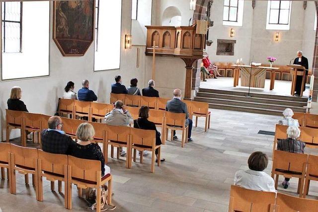 Freude bei den ersten Gottesdiensten in Grenzach-Wyhlen überwiegt