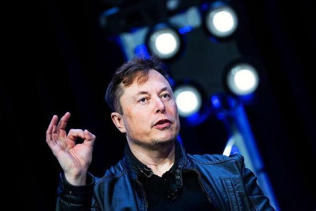 Tesla-Chef Musk droht mit Verlagerung seines Unternehmens
