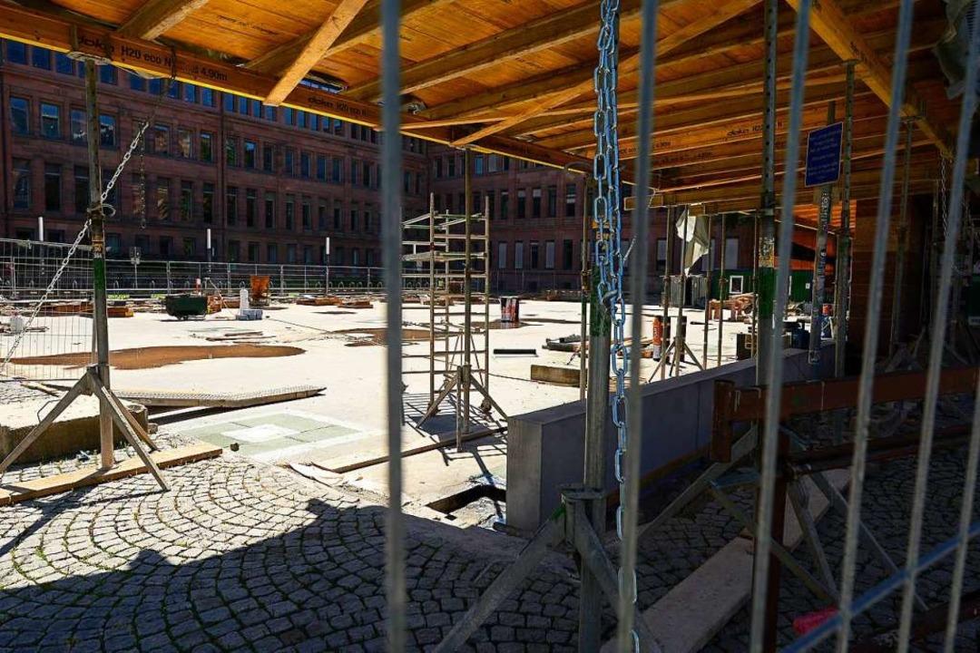 Voraussichtlich bis 2025 bleibt das KG II eine Baustelle.    Foto: Ingo Schneider