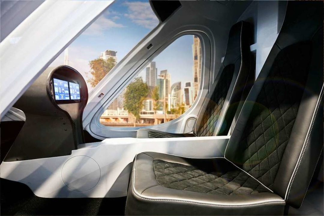 Ein Blick ins Innere des Flugtaxis.  | Foto: Nikolay Kazakov