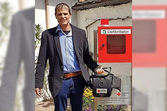 Mobiler Defibrillator für Veranstaltungen