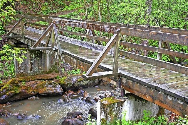 Alte Brücke kommt weg