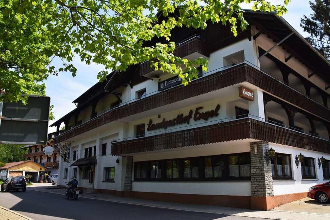 Im Landgasthof Engel in Rickenbach sta...n die 49 Zimmer fast vollständig leer.  | Foto: Stefan Ammann
