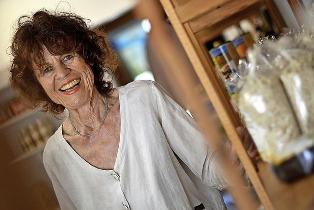 Renate Faist versorgt Wittnau auch in der Krise mit Lebensmitteln