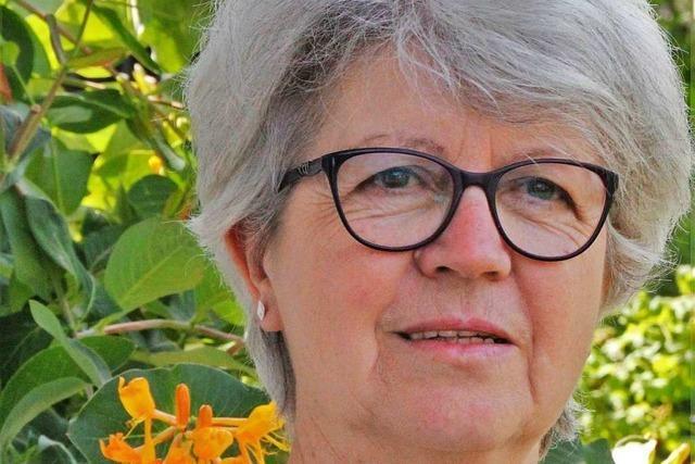 Gundi Schlegel war fast 20 Jahre lang Hausmeisterin in Heitersheimer Kirche