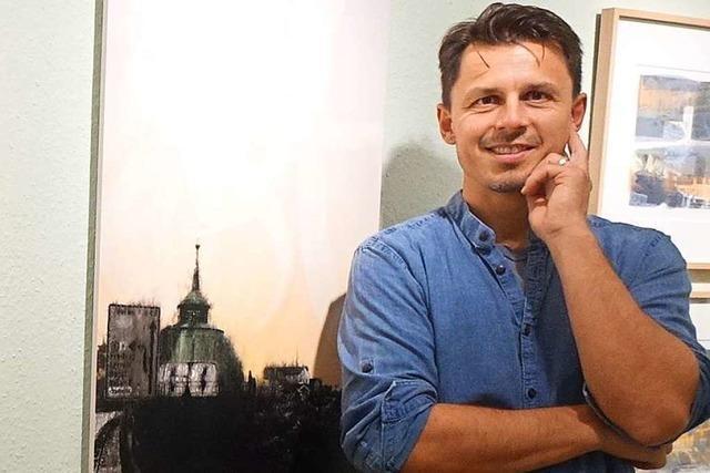 Patrick Luetzelschwab erhält den Markgräfler Kunstpreis