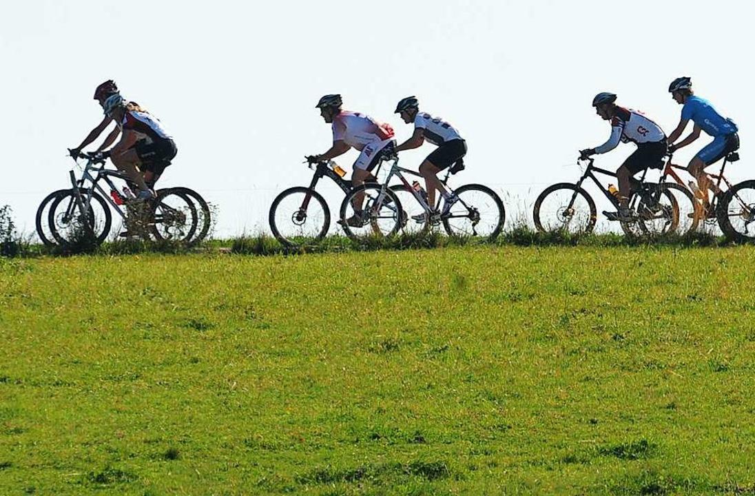 Rund 2000 Mountainbiker hätten im September wieder in Furtwangen starten sollen.  | Foto: Patrick Seeger