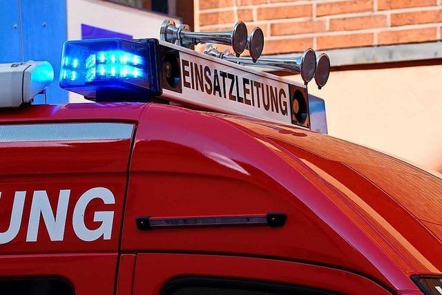 Zweimal Brandalarm für die Lörrachs Feuerwehr am Montagabend