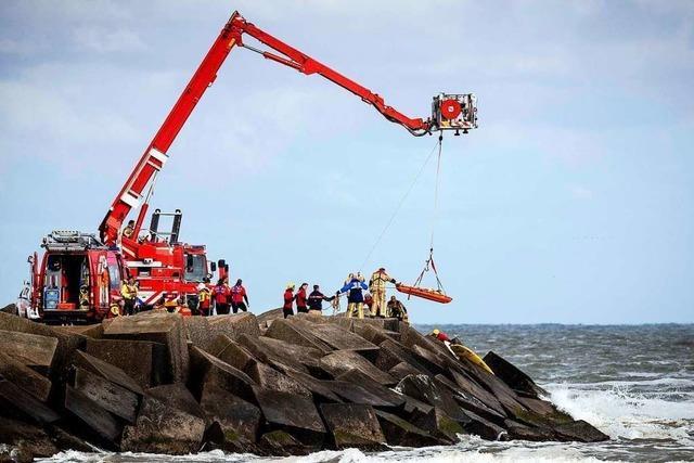 Fünf holländische Surfer sterben in der Nordsee
