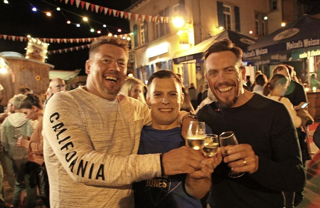 Weinfeststimmung, wie hier noch beim l...in Gottenheim dieses Jahr nicht geben.  | Foto: Mario Schöneberg