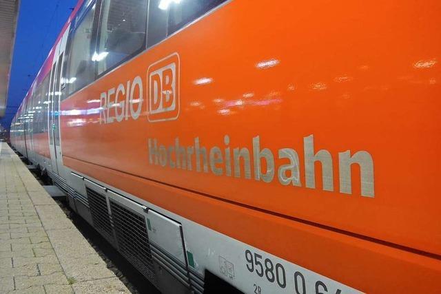 Verkehrsministerium will beschleunigten Ausbau der Hochrheinbahn