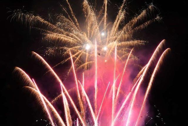 Die Stadt Lahr verzichtet künftig auf eigene Feuerwerke
