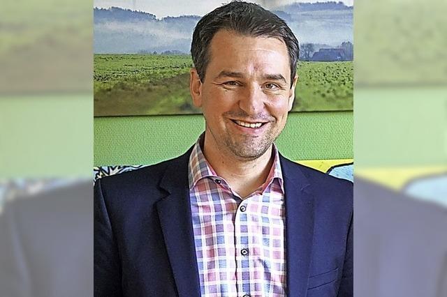 Tobias Gantert will erneut kandidieren
