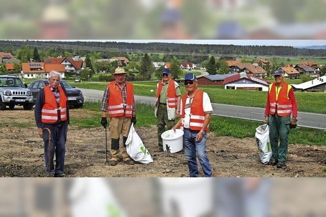 Aktiv in Sachen saubere Gemeinde