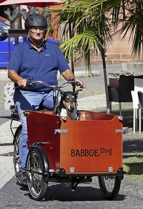 Neben vielen anderen Sachen kann man a...d mit einem Lastenrad transportieren.   | Foto: Mark Alexander