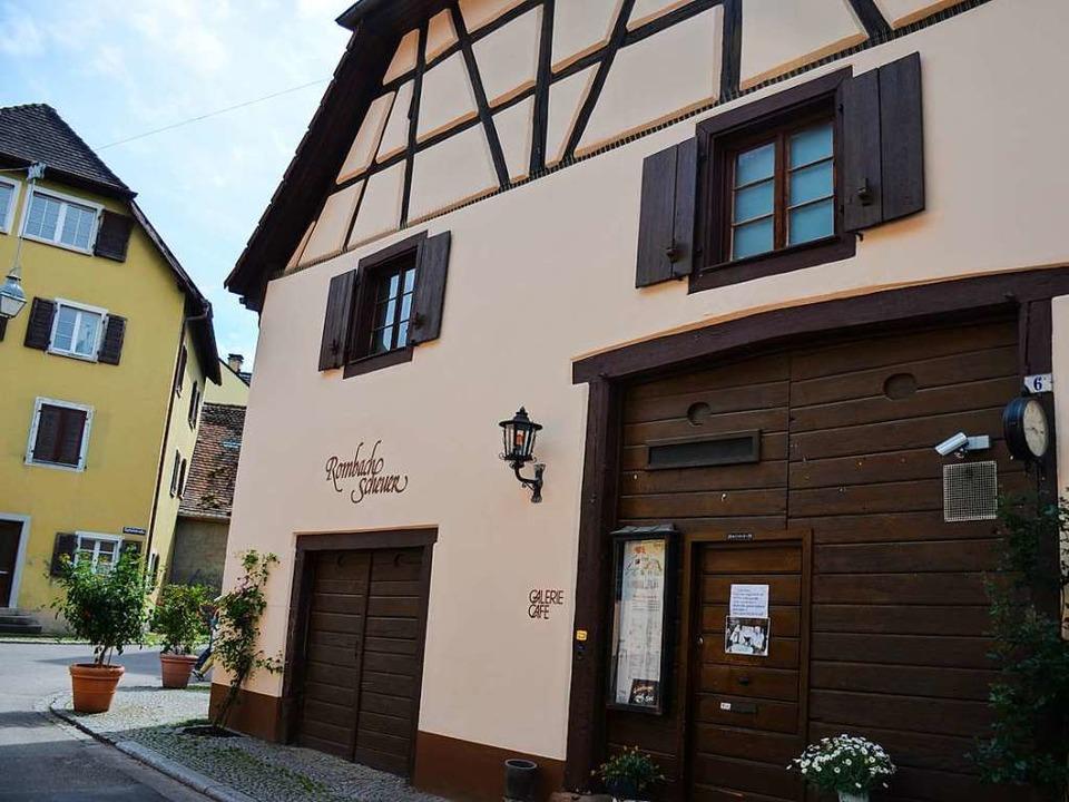 Sie ist eine Institution in Staufen: d...baulichen Voraussetzungen vereinbaren.  | Foto: Gabriele Hennicke