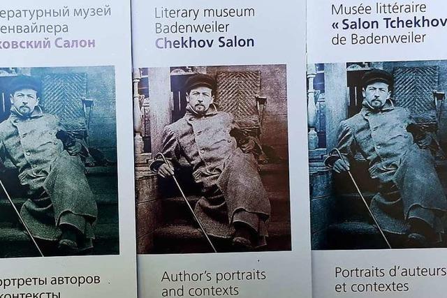 Das Literaturmuseum Badenweiler hat nun Museumsführer in unterschiedlichen Sprachen