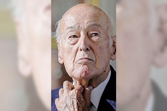 Reporterin wirft Giscard (94) Belästigung vor