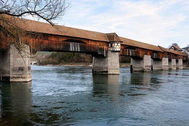 Pro und Contra: Soll die Holzbrücke in Bad Säckingen geschlossen bleiben?