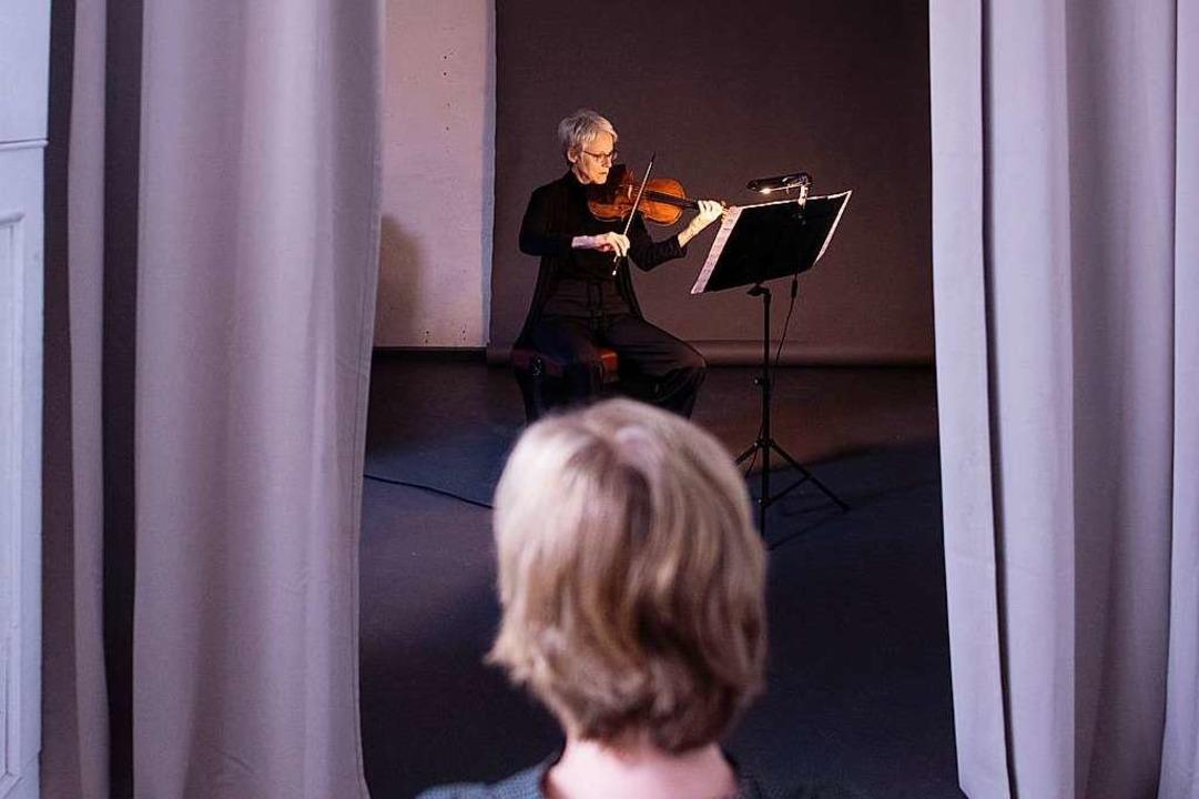 1:1-Konzert mit Margaret MacDuffie  | Foto: SWR/Andree Kaiser