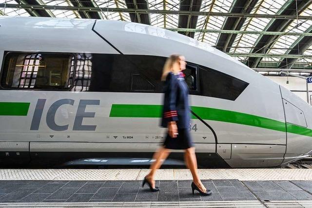 Bahnreisende, die keinen Gutschein wollen, haben es schwer