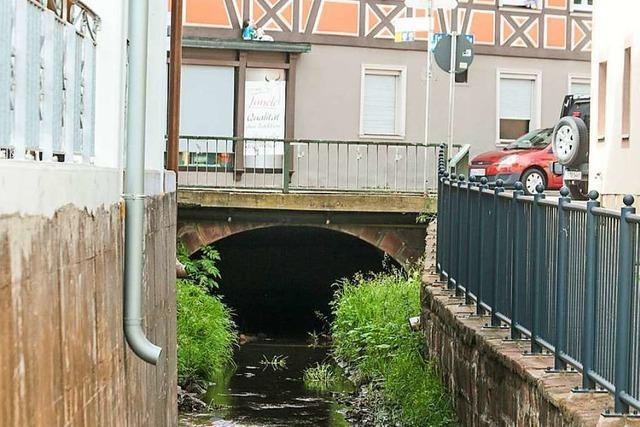 Stadt saniert für rund 600 000 Euro zwei Brücken über den Gewerbekanal