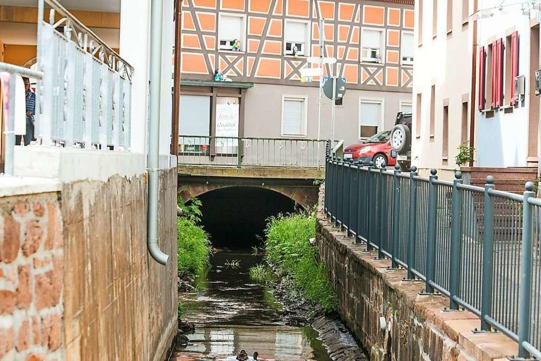 Die Gewölbebrücke in der Friedrichstraße steht unter Denkmalschutz.  | Foto: Sandra Decoux-Kone