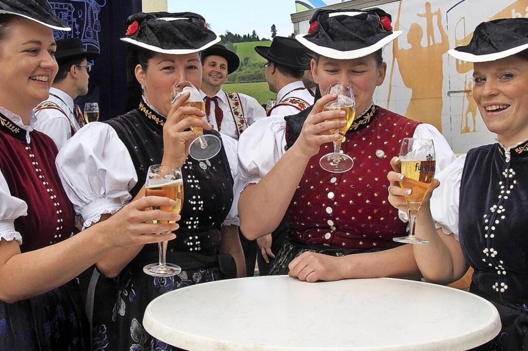 Das Dorffest in St. Peter im Juni ist  definitiv  wegen Corona abgesagt.  | Foto: Markus Donner