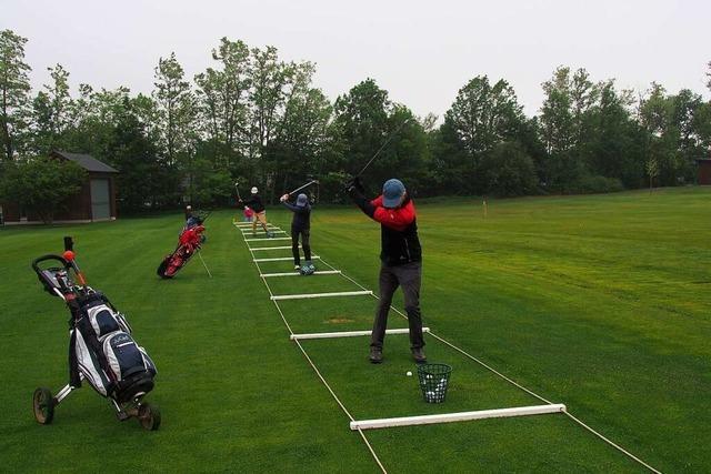 Beim Golfclub Freiburg im Dreisamtal kehrt das sportliche Leben zurück