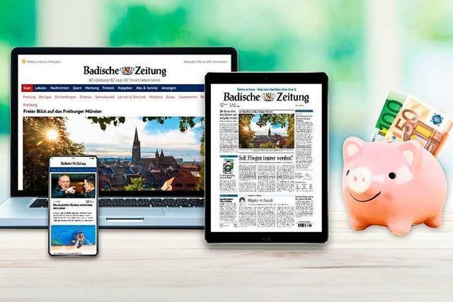 Lesen Sie die digitale BZ – als Dankeschön gibt es 150 Euro in bar