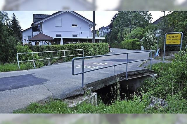 Brücke soll saniert werden
