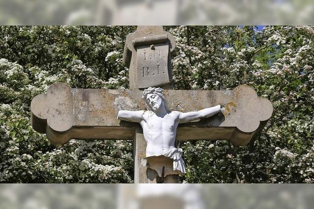 Christusfigur wird erneuert