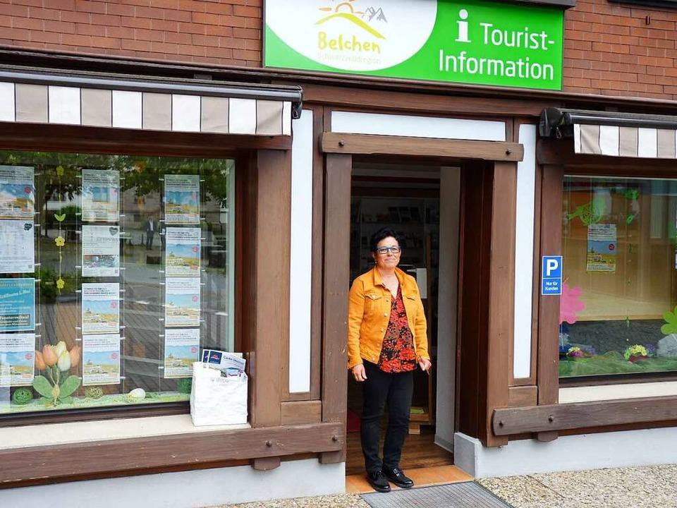 Inge Wetzel von der Tourist-Information in Schönau freut sich auf den 25. Mai.  | Foto: Sattelberger
