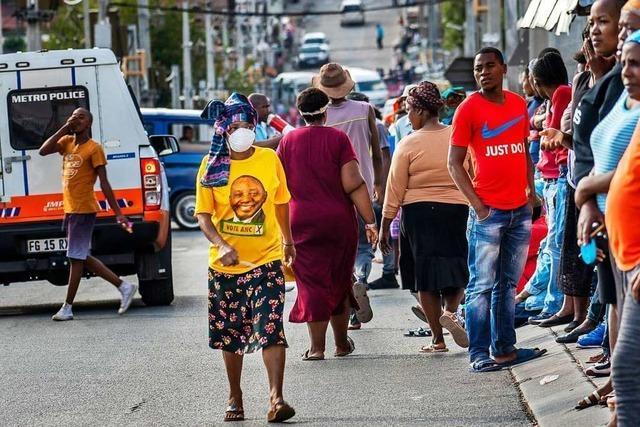 Der strikte Lockdown richtet Südafrika zugrunde