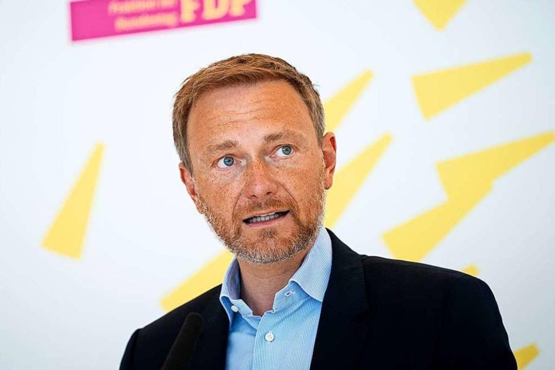Was will die FDP in der Corona-Krise? ... nicht so richtig zu beantworten weiß.  | Foto: Kay Nietfeld (dpa)