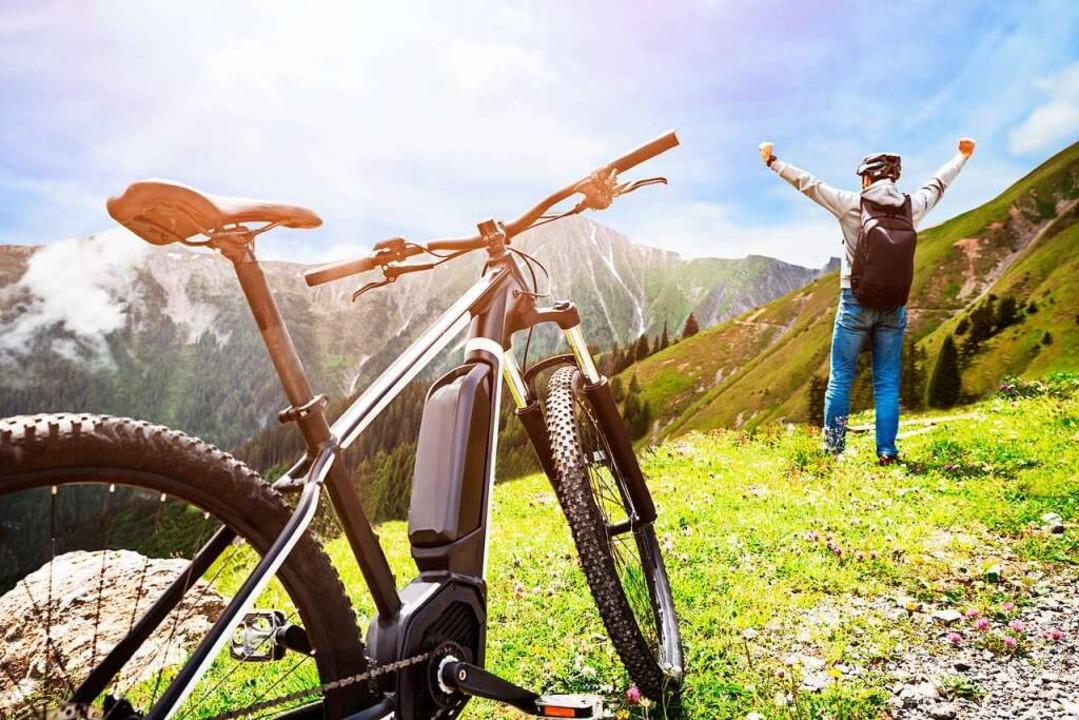 Einfach mal raus und durchatmen. Mit e...ike geht das einfacher und schneller .  | Foto: Andrey Popov_Adobe Stock.com