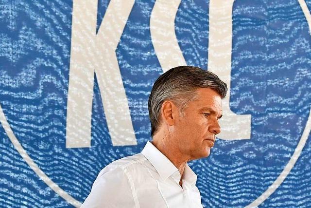 Insolvenz-Streit des KSC: Präsident Wellenreuther tritt ab