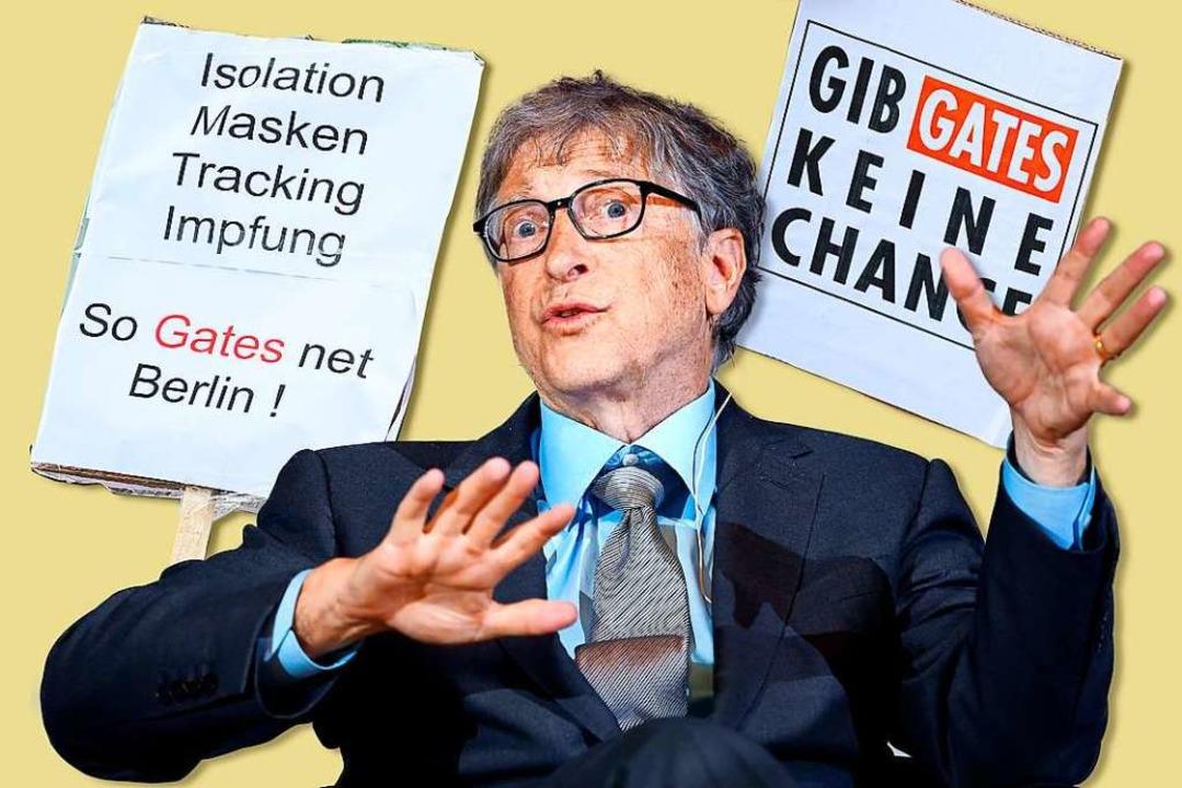 Kümmert sich seit 2008 nur noch um sei...Verschwörungstheoretikern: Bill Gates.  | Foto: Britta Pedersen
