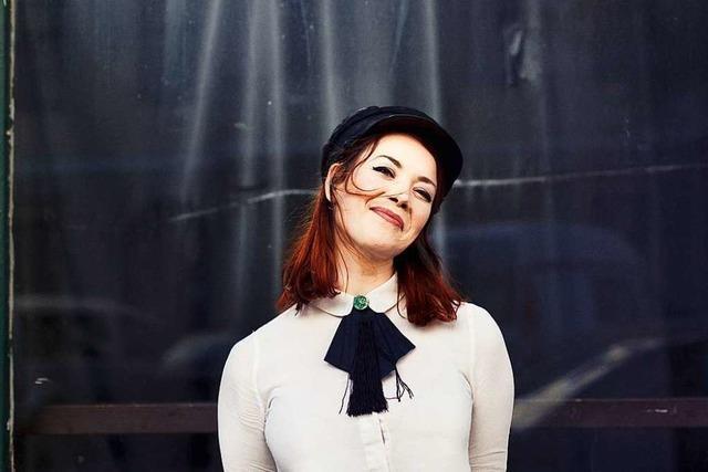 Wie Magdalena Ganter an ihrem ersten Soloalbum arbeitet