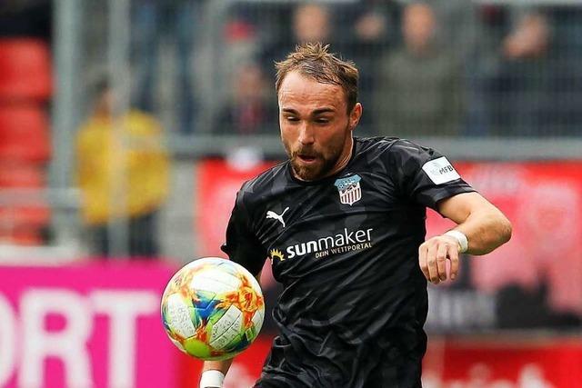 Weiler Fußballprofi Fabio Viteritti sieht den Drittligastart kritisch
