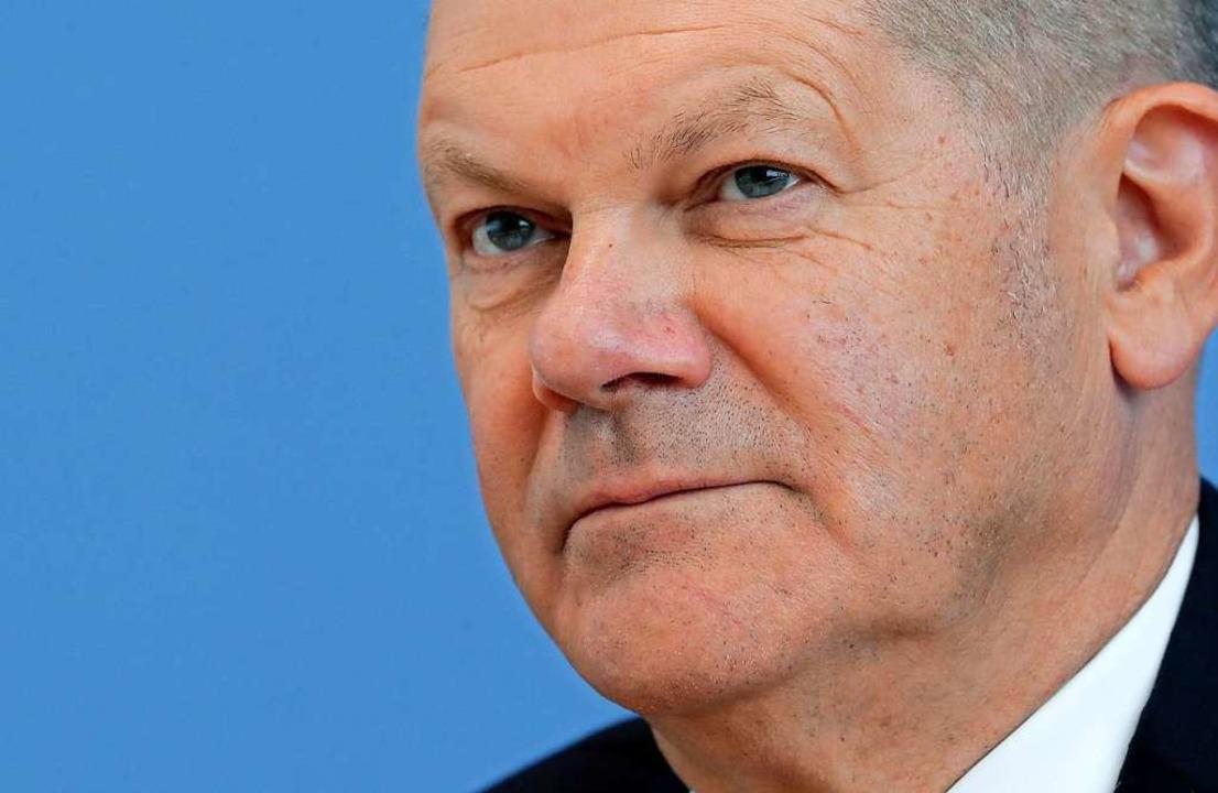 Will nicht sparen, sondern die Krise m...nden: Finanzminister Olaf Scholz (SPD)  | Foto: Michael Sohn (dpa)