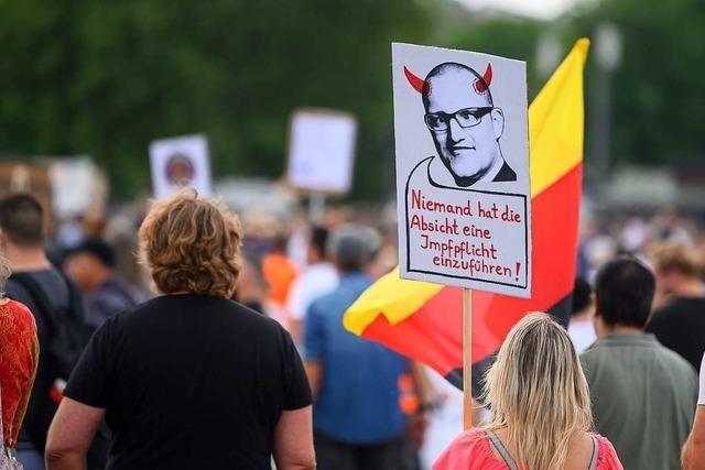Stuttgart verschärft Auflagen für Demo gegen Corona-Regeln