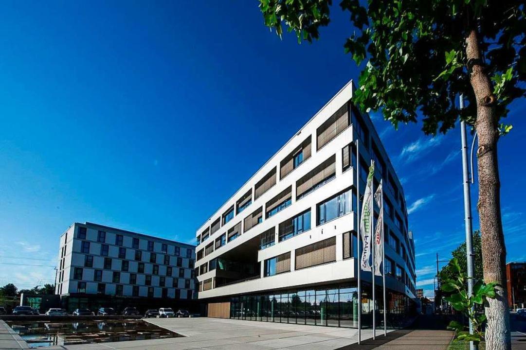 Die Straumann-Zentrale für Deutschland...arbeiten derzeit rund 350 Mitarbeiter.  | Foto: privat