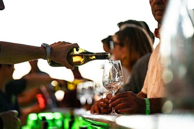 Die Wein-Fass-Bar im Weingut Briem wird auf 2021 verschoben