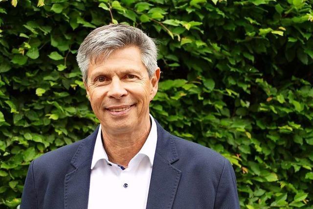 Christof Nitz will für den Wahlkreis Lörrach das CDU-Mandat zurückgewinnen