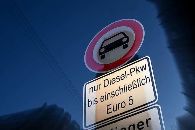 In Stuttgart flächendeckende Fahrverbote jetzt auch für Euro-5-Diesel